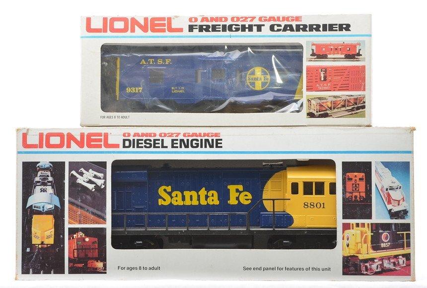 Lionel SF 18801 U36B Diesel 9317 Caboose