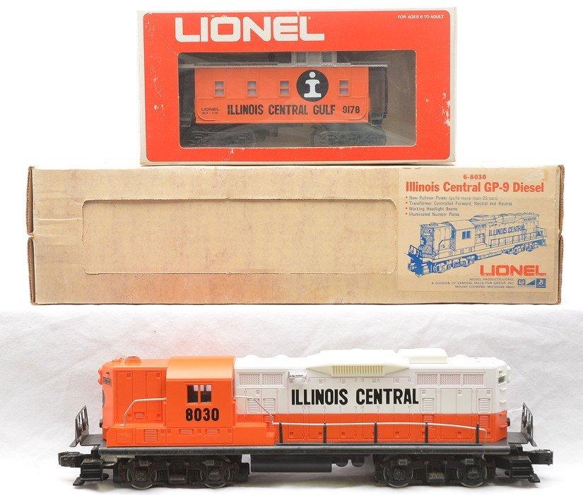 Lionel IC 8030 GP9 Diesel 9178 Boxed 9200