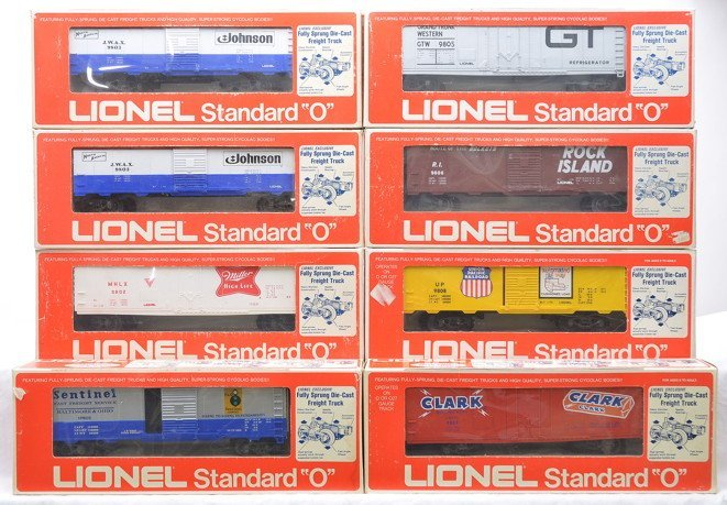 Lionel Std. O 9801 9802 2-9803 9805 9806 9808