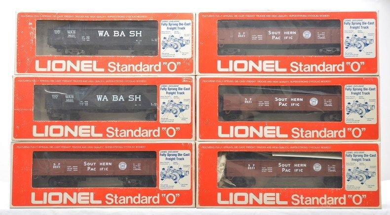 Lionel Std. O Gondolas 2-9820 4-9821 OBs
