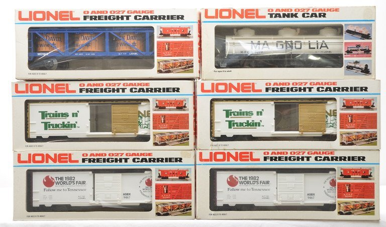 Lionel Freights 2-7803 9146 9279 2-9467 MINT OBs