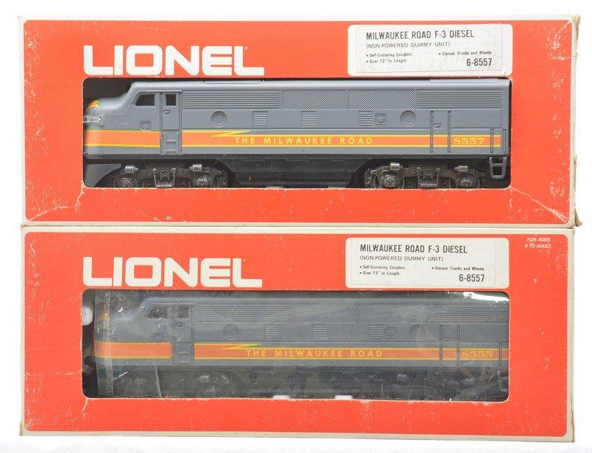 Lionel 8555/8557 MR F3 AA Diesel Units LN