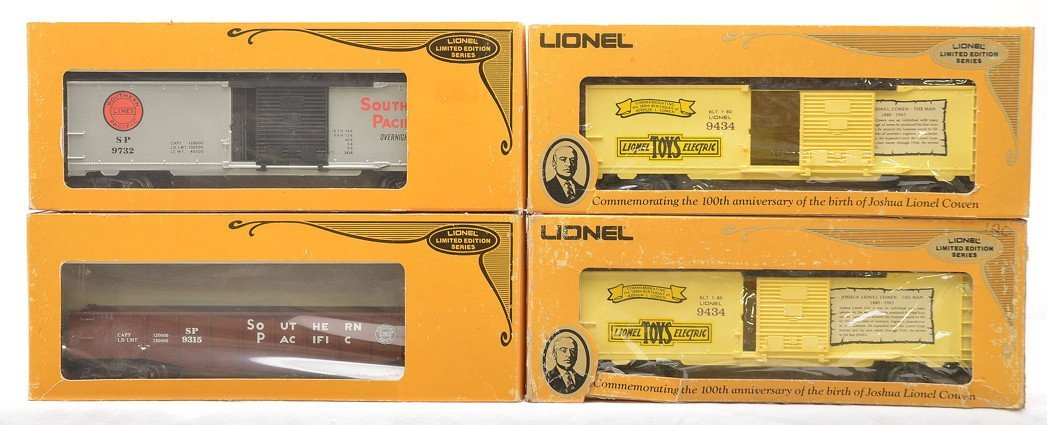 Lionel Freights 9434 9434 9315 9732 LIKE NEW OB