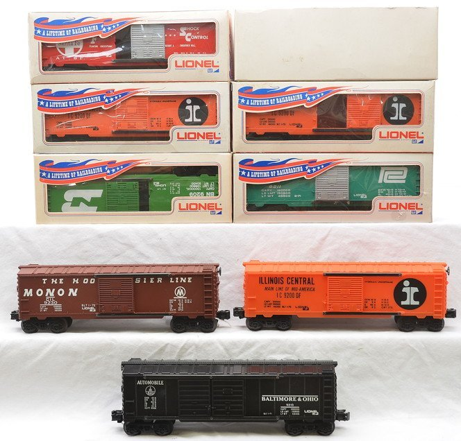 Lionel Boxcars 9200 9202 9209 9210 9211 9230 LN
