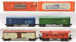 Lionel Freight Cars 6468 6572 Boxed 6672 6517