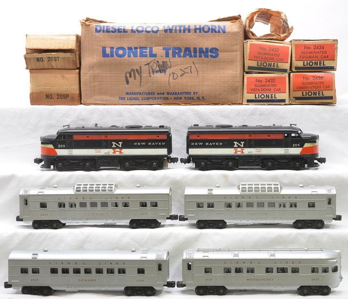 Lionel Merchants Limited Pass Set no. 1608W