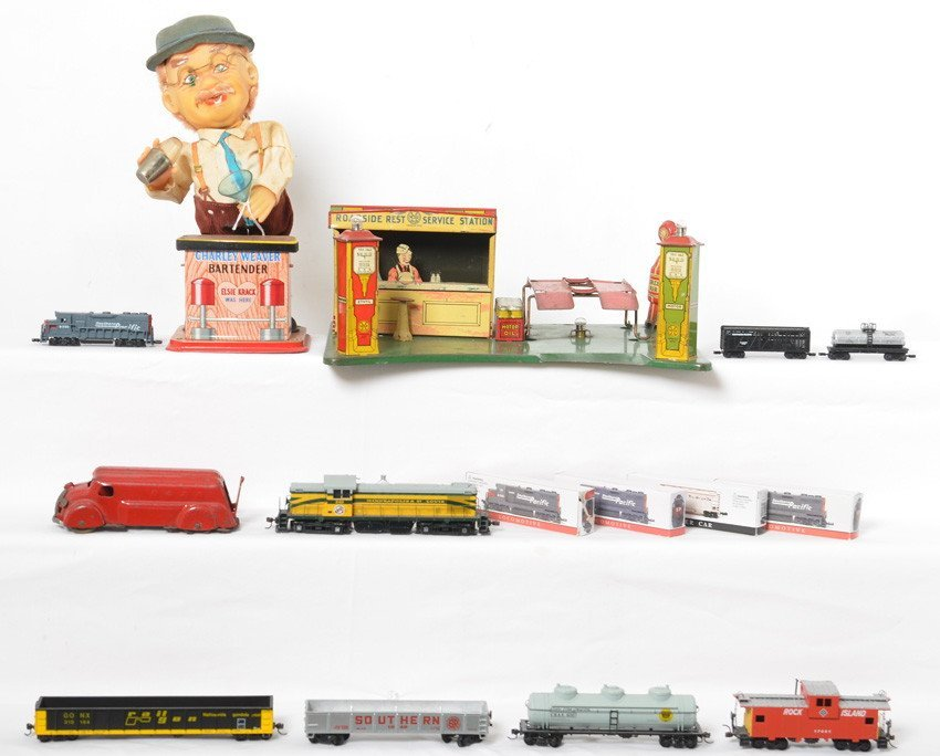 Nice lot of Vintage Toys and newer Trains