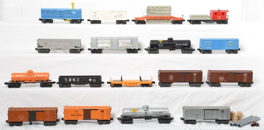 Lionel lot of postwar freight cars