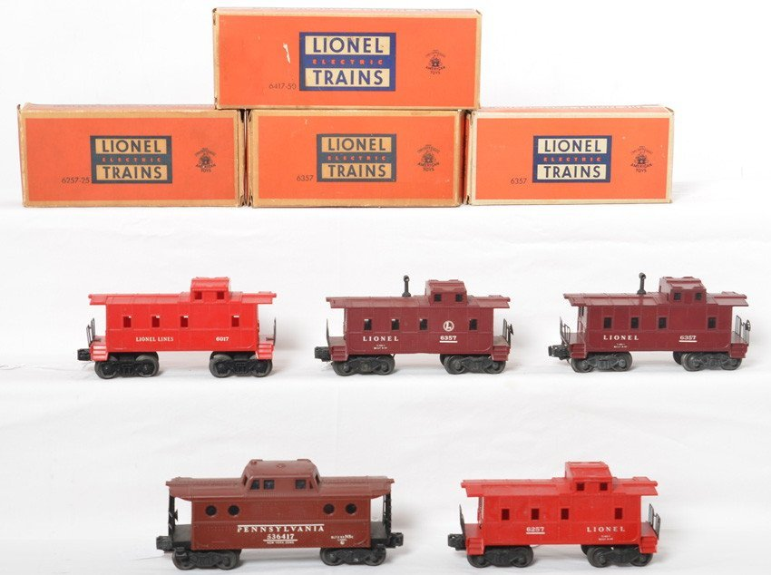 Lionel 6017, 6257, 6357, 6357, 6417, with some OB
