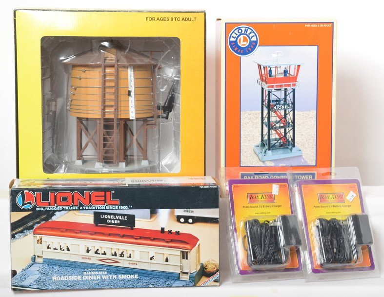 Lionel and MTH accessories 24153, 12722, 11028, 50-1019