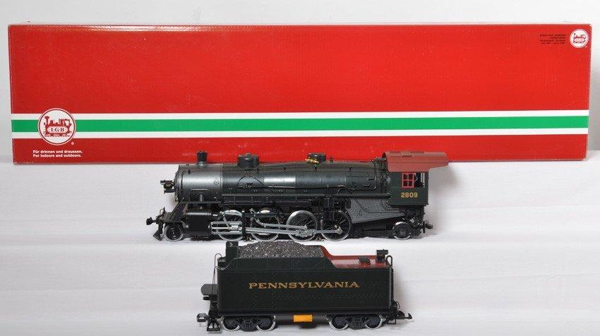 LGB 21872 Pennsylvania 2-8-2 steam locomotive