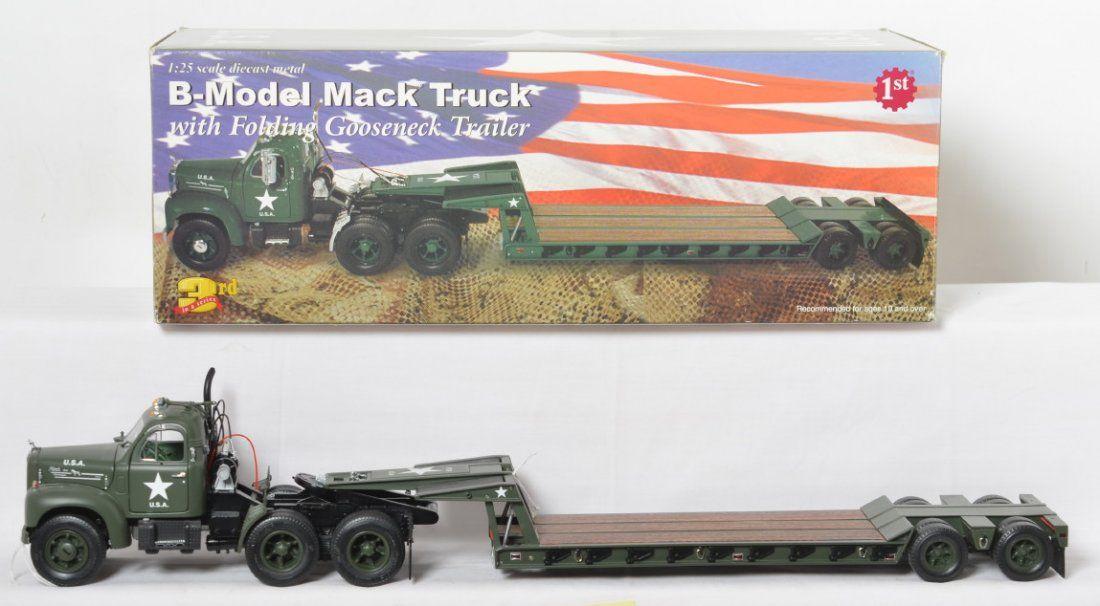 First Gear 49-0049 U.S.A. B-Model Mack Truck in OB