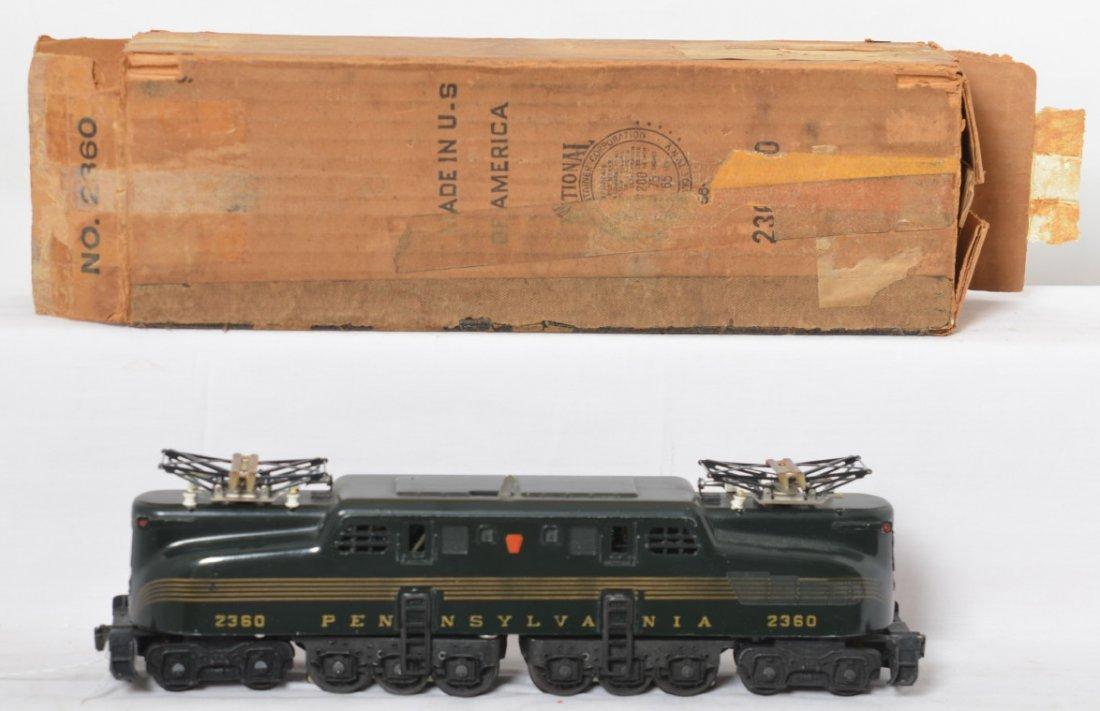 Lionel 2360 Pennsylvania 5-stripe GG-1 in OB