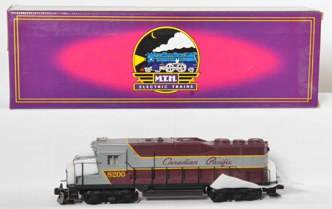 MTH Canadian Pacific GP-30 with Proto
