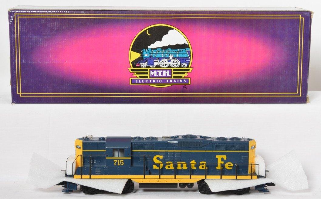 MTH Santa Fe GP-9 with Proto