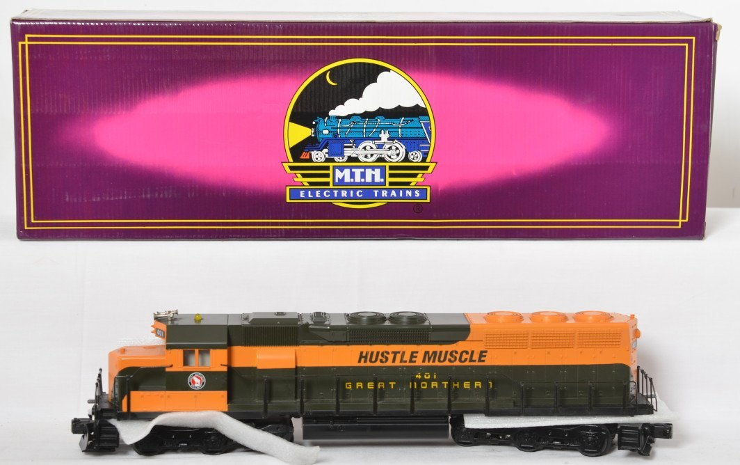 MTH Great Northern Hustle Muscle SD45 with Proto