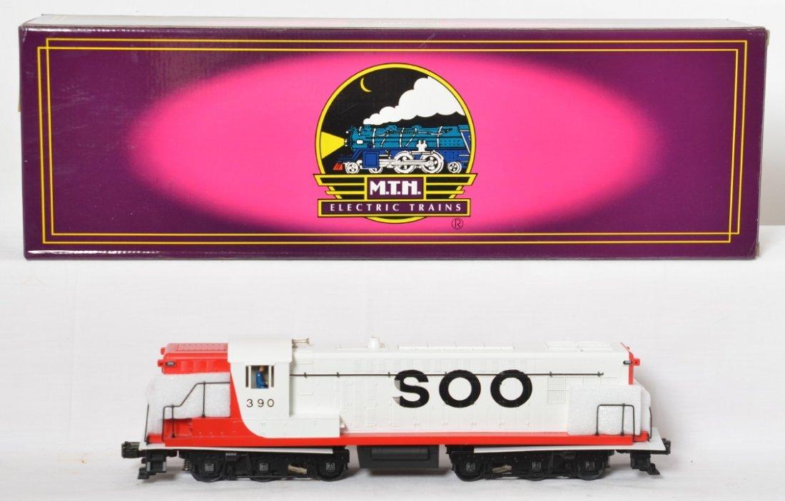 MTH Soo Line Baldwin AS-616 with Proto
