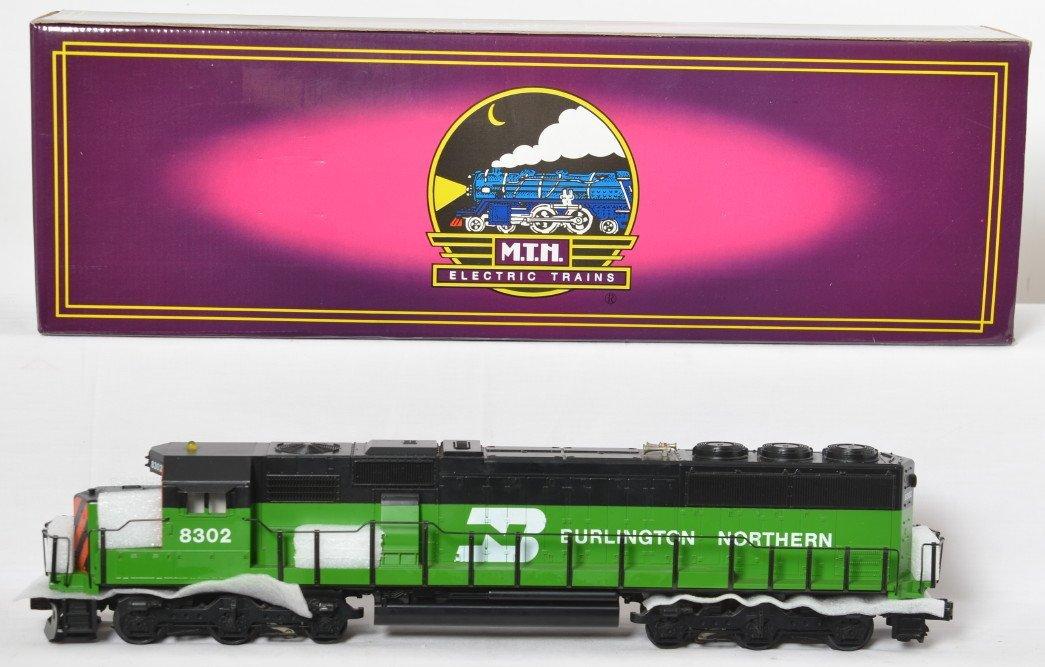 MTH Burlington Northern SD60 with Proto