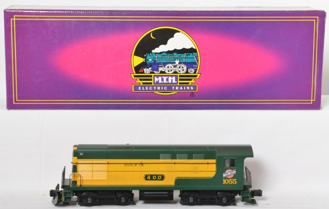 MTH Chicago and Northwestern H10-44 with Proto