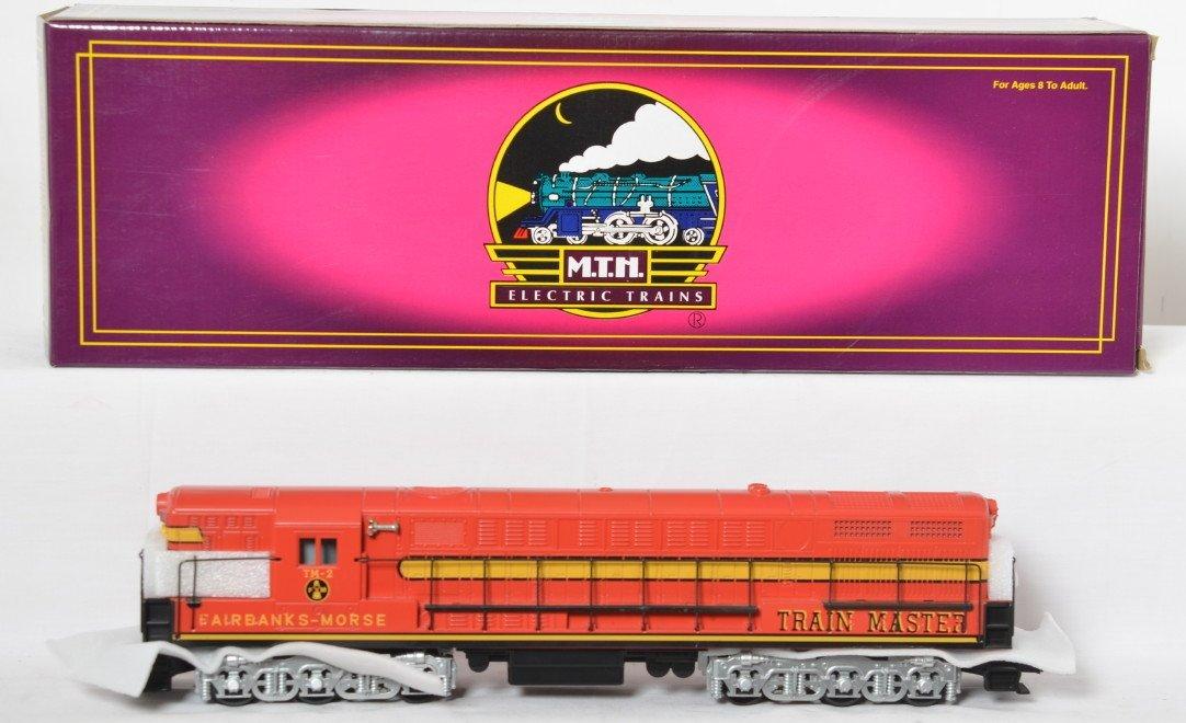 MTH Fairbanks Morse demo Trainmaster with Proto