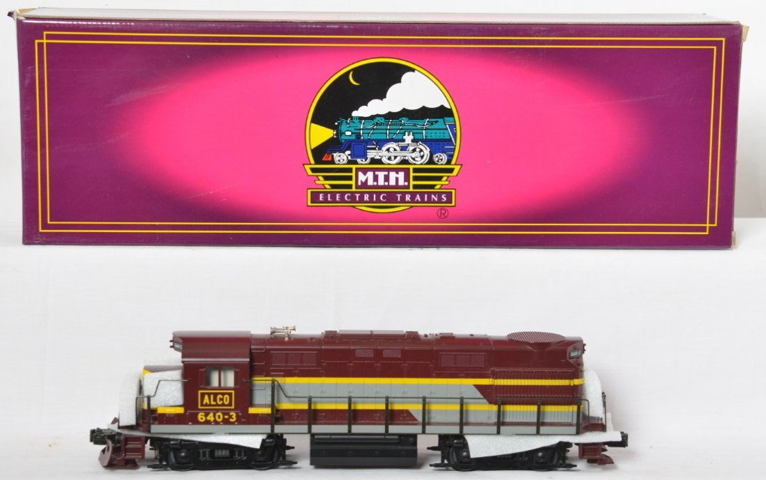 MTH Alco Demo RS-27 diesel locomotive with Proto