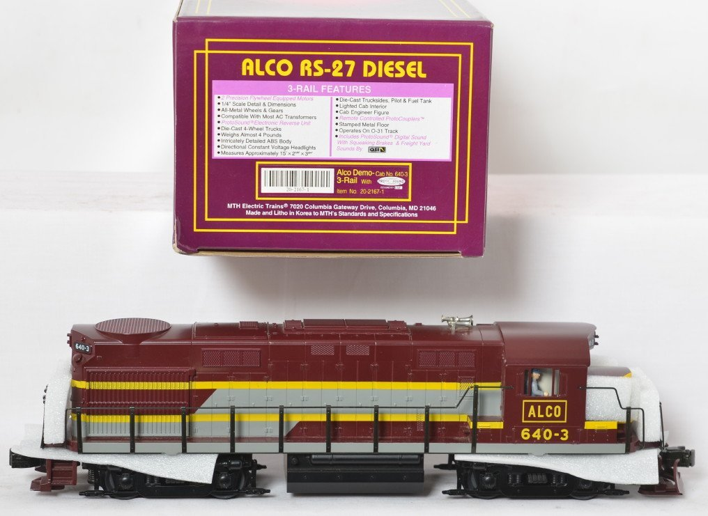 MTH Alco Demo RS-27 diesel locomotive with Proto - 2