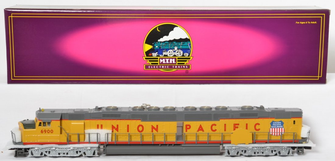 MTH Union Pacific DD40AX with Proto