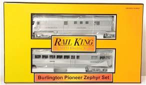 MTH Railking Burlington Pioneer zephyr