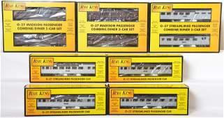 10 Railking Pennsylvania passenger cars