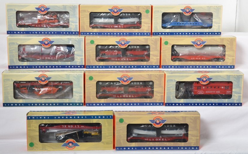 11 Lionel Postwar Celebration Series freight cars