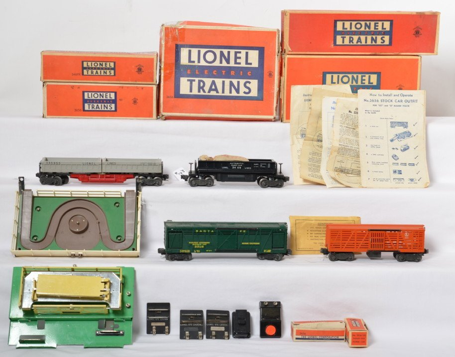 Lionel 3359, 3469, 3356, and 3656 in OB