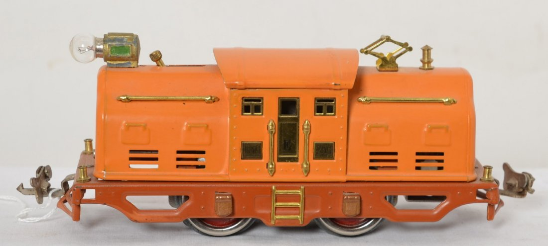 Lionel 250 E variation stamped on door, electric loco