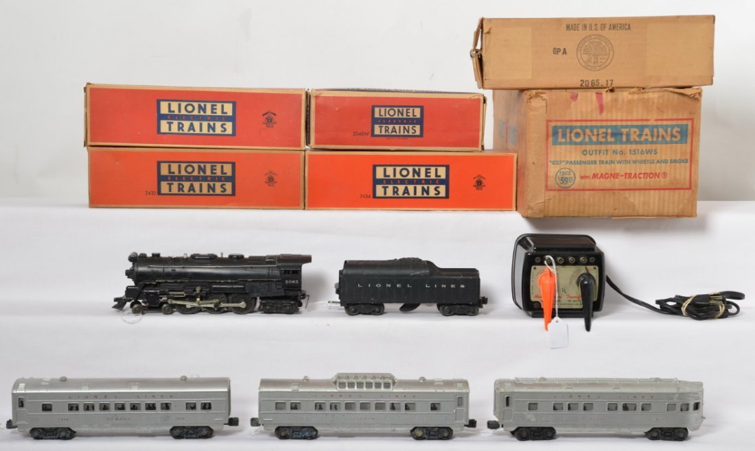 Boxed Lionel Outfit No. 1516WS 2065 w/2432...