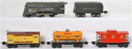 Lionel prewar set 265E 265W 2654 2652 2657