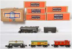 Lionel No 1089E freight outfit 1666E 2689T bronze GM