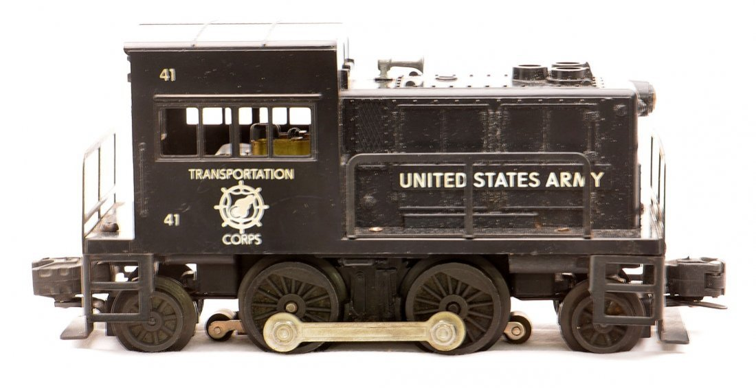 Lionel 41 United States Army Switcher