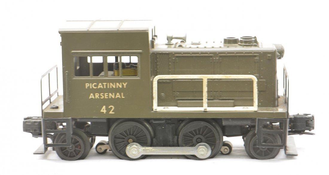 Lionel 42 Picatinny Arsenal Switcher