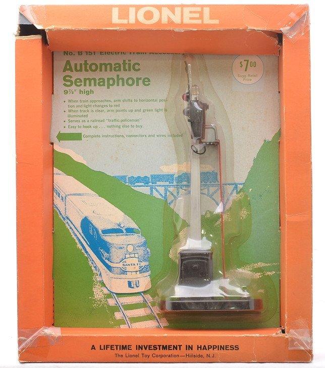 Lionel B151 Automatic Semaphore Blister Pack