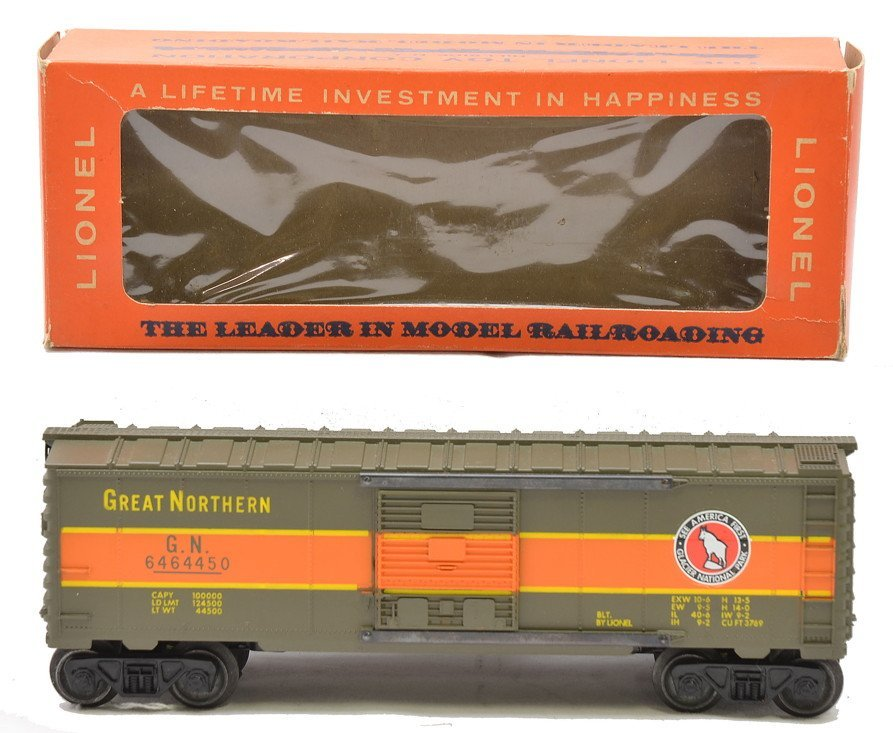 Lionel 6464-450 Great Northern Boxcar MINT OB