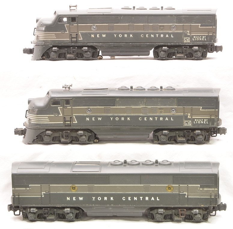Lionel 2344 NYC F3 ABA Diesel Units