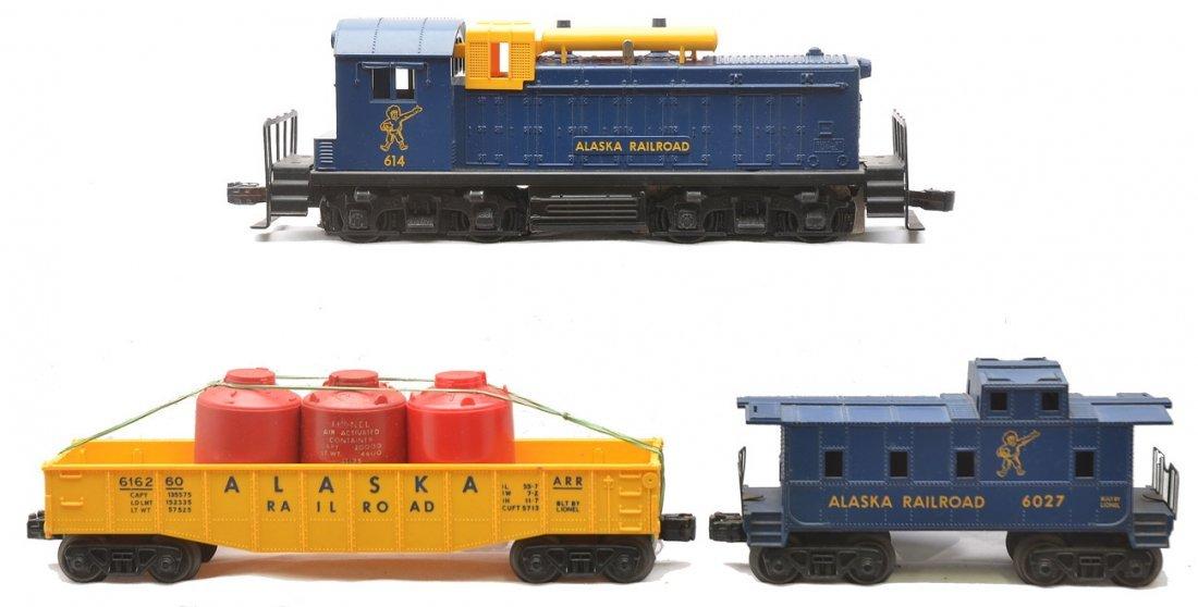 Lionel Alaska 614 6162-60 6027 From 1611 Set
