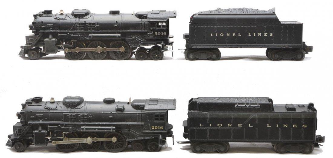 Lionel 2026 Loco w/6466W 2016 Loco w/6026W