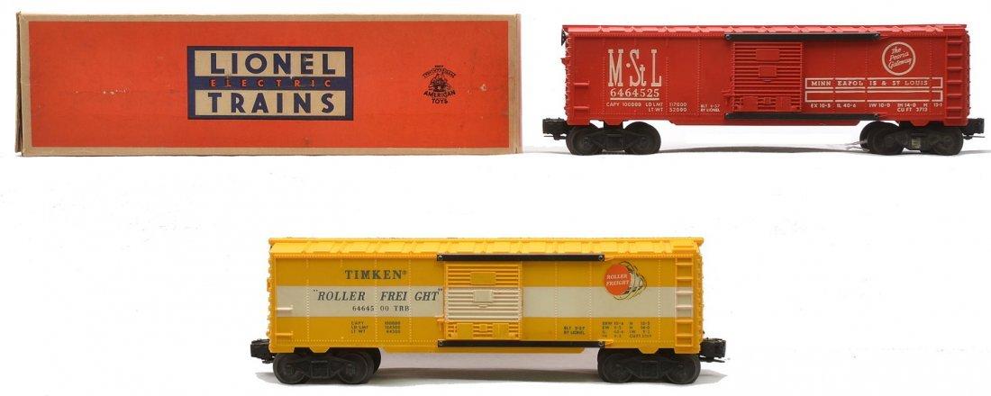Lionel 6464-525 M&StL OB 6464-500 Timkin LN