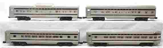 Lionel Aluminum Pass Cars 2543 2544 2542 2541