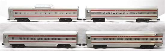 Lionel Aluminum Pass Cars 2563 2563 2562 2561