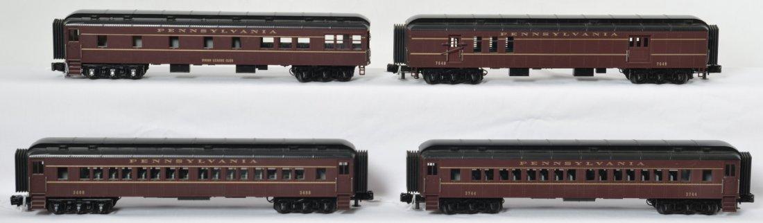 4 MTH Pennsylvania heavyweight passenger cars