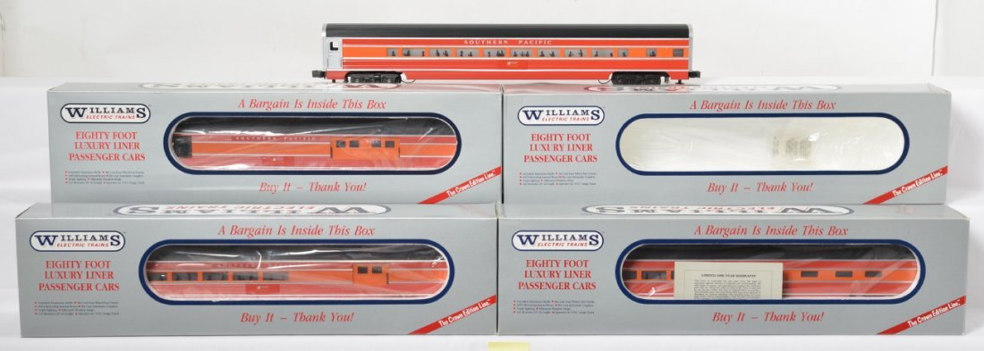 Williams Southern Pacific aluminum 4 car luxury liner