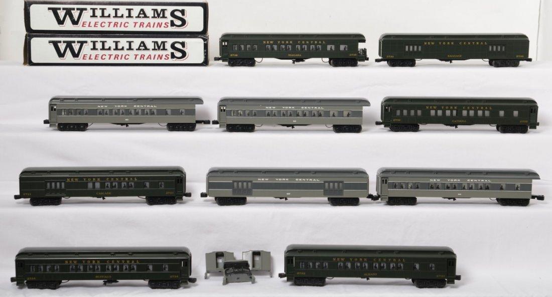 12 Williams New York Central passenger cars
