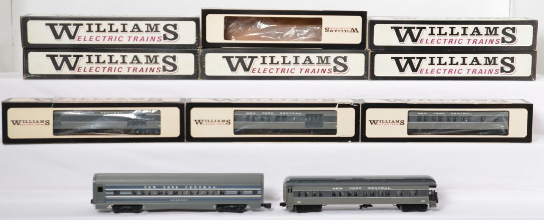 9 Williams New York Central passenger cars