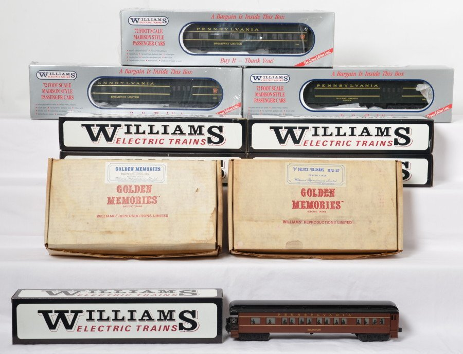 14 Williams Pennsylvania passenger cars